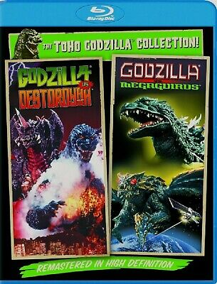 Blu-Ray Godzilla Vs Destoroyah, Godzilla Vs Megaguirus (Bluray) Toho Collection