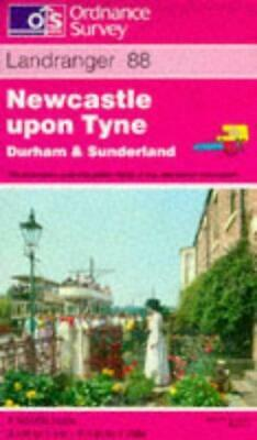 Newcastle upon Tyne, Durham and Sunderland (Landranger Maps), Ordnance Survey, G