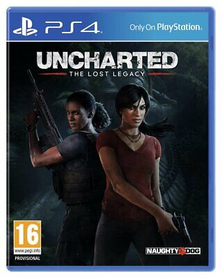 Uncharted: the Lost Legacy Sony Playstation PS4 Game
