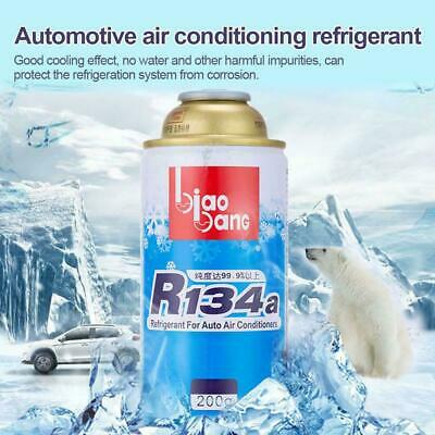 200g 1x Automotive refrigerant R134A Eco-friendly For Air Conditioning Safe NEW