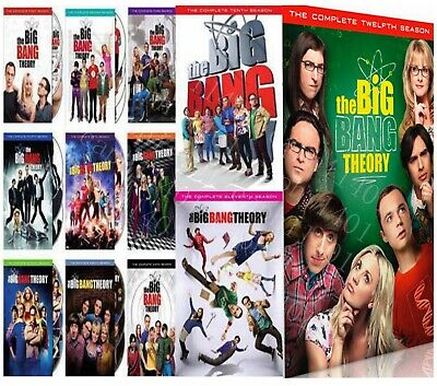 THE BIG BANG THEORY: Complete Series Seasons 1-12 1-11+12 DVD BRAND NEW Sealed