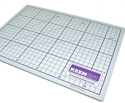 KEENCUT DOUBLE SIDED CUTTING MAT PAPER A3 300mm x 450mm PICTURE FRAMING TRIMMING