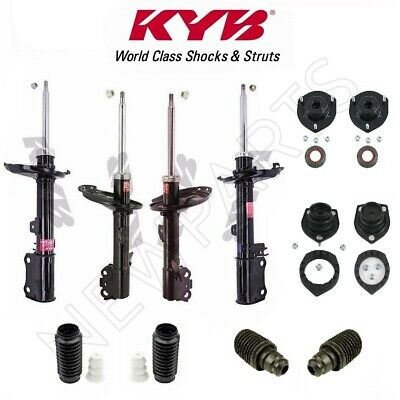 For Lexus RX330 RX350 FWD Front /& Rear Suspension Struts Bellows /& Strut Mounts