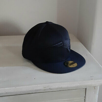 New England Patriots New Era 59FIFTY All Over Black Fitted Cap - 7 1/4