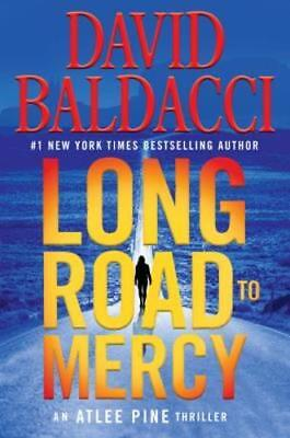 Long Road to Mercy by David Baldacci (2018, Hardcover) 1st Edition!