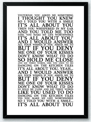 GREEN DAY GOOD Riddance (Time of Your Life) Song Print