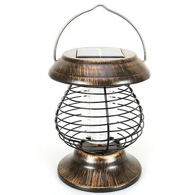 Solar Powered Mosquito Killer Lamp Outdoor Portable Insect UV Killing Pest M1U9