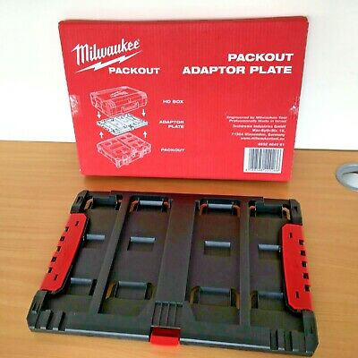 MILWAUKEE PACKOUT -4932464081 PACKOUT Adaptor Plate for HD Box