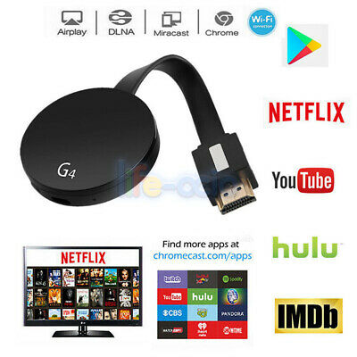 2019 Chromecast 4nd Generation HD 1080P Media Video Digital Streamer For Google