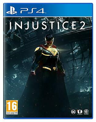 Injustice 2 PS4 Video Game FAST AND FREE DELIVERY