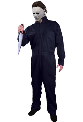 Trick or Treat - Halloween 1978 Michael Myers Deluxe Coveralls - Adult or Child