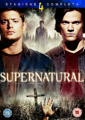 Supernatural - Stagione 4 Completa In Italiano (8 DVD)