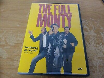 The Full Monty Dvd Movie Film Disc Fox Searchlight Pictures Redwave R 1997