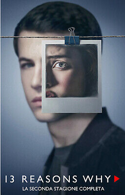 13 Reasons Why - Stagione 2 Completa In Italiano (8 DVD)
