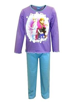 Girls/Toddlers FROZEN Purple/Blue LONG Pyjamas   18-24 mths   3-4  &  4-5 years