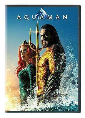 Aquaman DVD. New and sealed. Free delivery. Region 2.