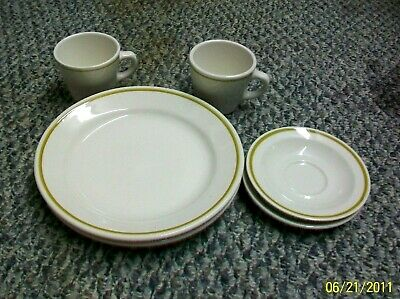 @Ac-Ch Vintage Homer Laughlin Best China Usa. Restaurant Ware Dinnerware Pieces