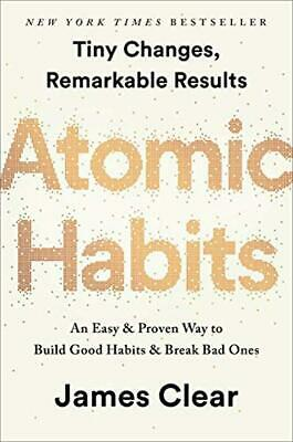 Atomic Habits An Easy Proven Way by James Clear Hardcover 0735211299 NEW