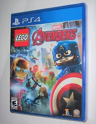 Playstation 4 PS4 Marvel LEGO AVENGERS Video Game Ages Everyone 10+ Brand New