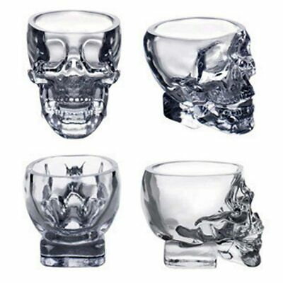 Shot Glass Cup Crystal Skull Head For Home Bar Party Whiskey Wine Vodka Drinking