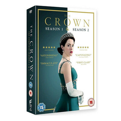 The Crown Season 1-2 The Brand New and Box Set DVD Region 2 UK Free Postage