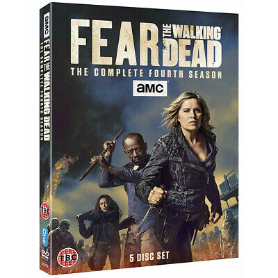 Fear The Walking Dead Season 4 The New and Sealed UK DVD Region 2 Free Postage