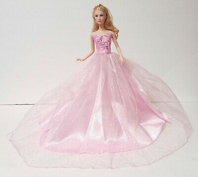 Barbie Doll Mattel Party dress wedding gown Casual wears clothes Outfit C100141