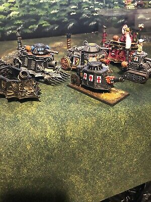 WARHAMMER FANTASY EMPIRE Pro painted, Steam Tanks, Rare, Oop, Classic