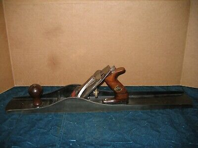 Vintage Stanley Bailey Sweetheart No 8 Woodworking Plane Nice!!