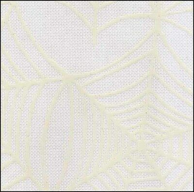 10% off Fabric Flair - 28 count Glow-in-the-Dark linen - Cobwebs