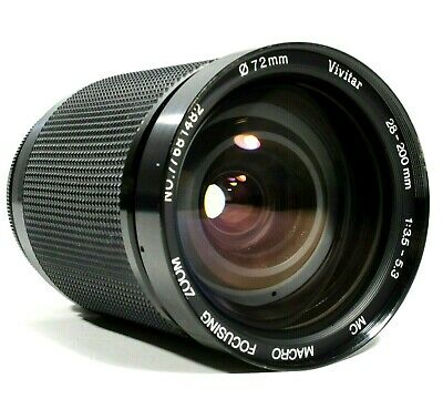 Vivitar Auto Zoom Macro Lens 28-200mm F3.5-5.3 Nikon N/AI-S Mount UK Fast Post