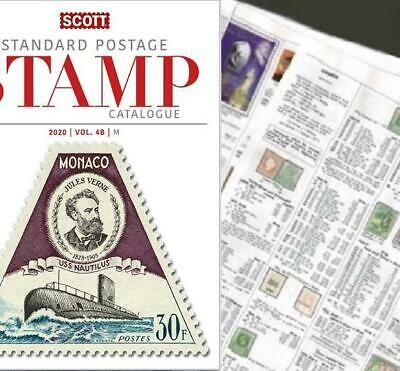 Mozambique and Company 2020 Scott Catalogue Pages 743-788