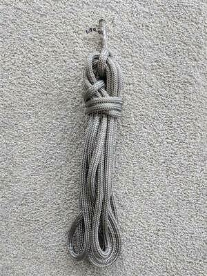 *USED* 10mm x 8.5m Dyneema Yacht Boat Marine Rope: Solid Grey, Condition 8/10