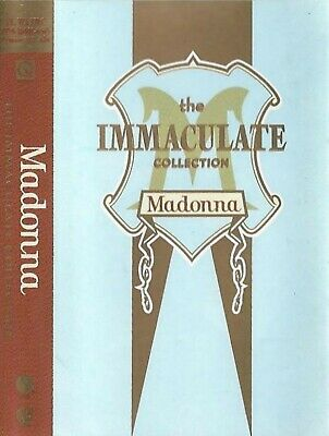 Madonna The Immaculate Collection CASSETTE ALBUM Synth-pop TAKT POLAND OFFICIAL