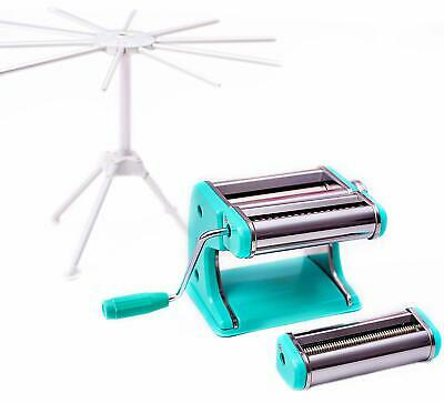 Pasta Machine Maker Professional Noodle Cutter Drying Rack Stand