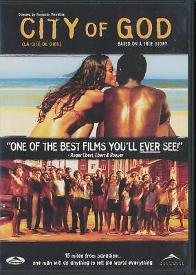 City of God (DVD, 2004, Canadian, Widescreen)