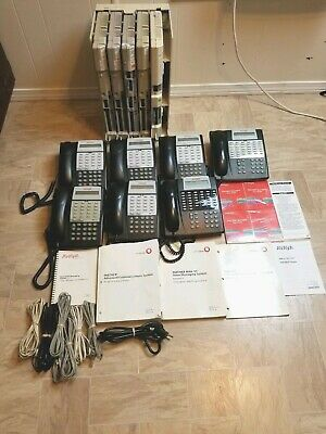 Avaya Lucent Partner ACS Phone System 18D 34D with 5 Modules, PC & VM Cards Used