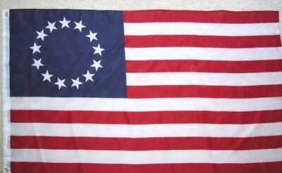 BETSY ROSS 3x5 ft Flag PRINT NYLON Made in USA - IN STOCK READY TO SHIP!!!