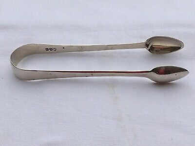 Solid Silver Georgian, George Iii, Sugar Tongs London 1807 Thomas Dicks