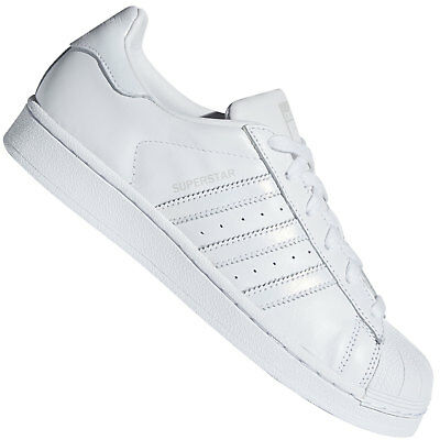 Détails sur adidas Originals Baskets Superstar Gris Femme