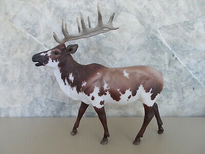 2018 BreyerFest SR Special Run Inari Brown Piebald Elk 750 Pieces NICE!