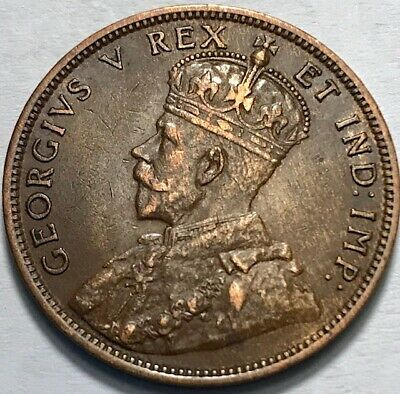 CANADA - George V - Large Cent - 1911 - KM-15 - 8 Beads - About Uncirculated