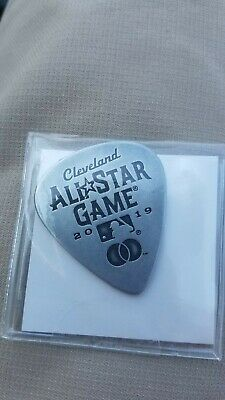 2019 MLB All Star Game Guitar Pick SGA 7/7/19 Cleveland Indians Rock And Roll