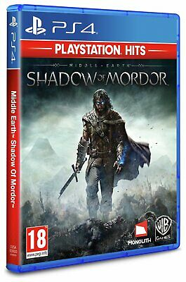 Middle Earth Shadow of Mordor Sony Playstation PS4 Hits Game 18+ Years