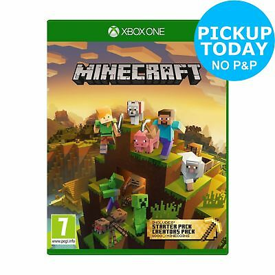 Minecraft Bedrock Master Collection Microsoft Xbox One Game 7+ Years