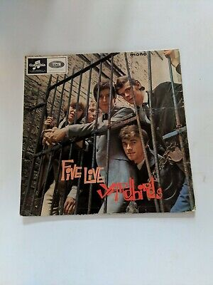 "ALBUM LP 12"" COVER ONLY no vinyl RECORD THE YARDBIRDS FIVE LIVE COLUMBIA 1677"