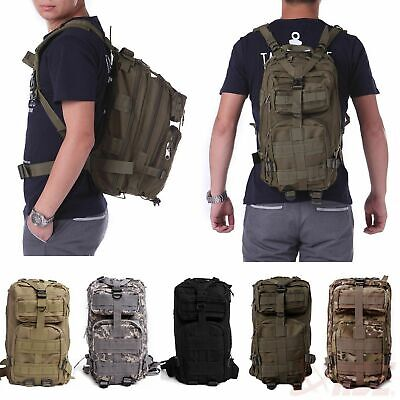 30L Outdoor Military Rucksacks 1000D Nylon Waterproof Tactical Backpack Bag