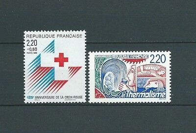 FRANCE - 1988 YT 2555 à 2556 - TIMBRES NEUFS** MNH LUXE