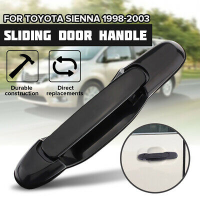 LH RH Rear Outer Outside Exterior Sliding Door Handle For Toyota Sienna 98-03
