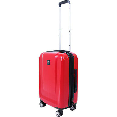 19cd2efeddf0 NEW LUGGAGE FUL Spinner Upright ATOMIC Hardside 3 Pc Set Black Pink ...